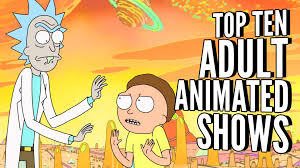 top ten animated shows tenftw