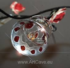 hand painted christmas glass balls art cave