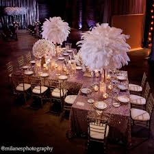 white ostrich feather centerpieces inspiration ballet shoes and ostrich feathers simple elegance