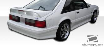 86 mustang cobra ford mustang rear bumpers ford mustang cobra r style rear bumper