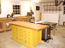 Ideas For Workbench With Drawers Design Darren Shop