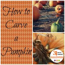how to carve a pumpkin we got real
