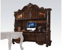 Cherry Computer Desk With Hutch by 92280 Executive Desk In Cherry Oak By Acme W Options