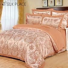 comforter cotton bedding sets satin luxury bed sheet new fashion