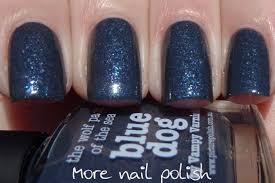 picture polish eerie blue dog storm color storm and amethyst