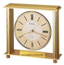 bulova desk clock b1700 grand prix