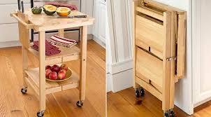 folding kitchen island cart folding kitchen island decor in your home decorating ideas