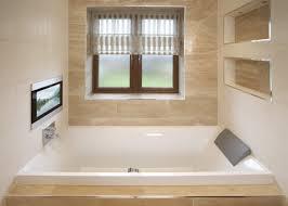 bathroom bathroom tv mirror glass bathrooms
