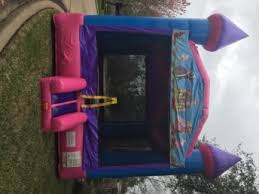 bounce house rentals houston houston tx party rentals pink n purple bounce house the firm