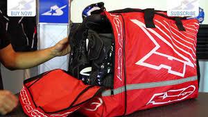 axo motocross gear axo weekender gear bag motorcycle superstore youtube