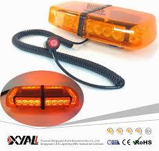 magnetic base strobe light 24w magnetic base amber emergency construction warning led mini