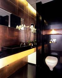 black bathroom design ideas for interior