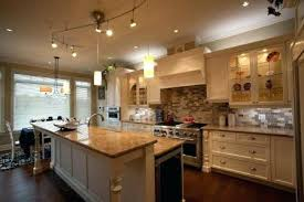 Pendant Track Lighting For Kitchen Kitchen Track Lighting Fixtures Kitchen With Stools And Pendant