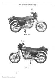 1979 1988 suzuki gs450 motorcycle service manual