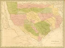 Colorado River Texas Map by Wheretexasbecametexas Org