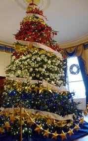 red white and blue christmas tree decorations house design ideas
