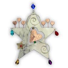 christmas ornaments unique unique artisan handmade christmas judacia ornaments