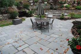 Awesome Stone Patio Designs For Your Home - Backyard stone patio designs