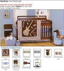 Rock N Roll Crib Bedding For The Rocker In The Family Lambs Rock N Roll 5