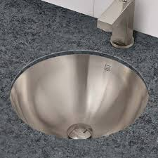 decolav 1220 simply stainless collection round undermount