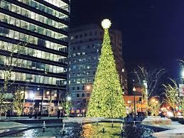 third annual tree lighting at citycenterdc the fairfax