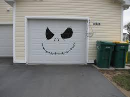 magic mesh garage door halloween my garage door jack the pumpkin king made out of