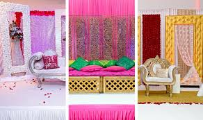 Indian Wedding Decoration Simple Diy Sangeet Decoration Ideas For Any Budget India Com