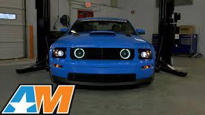 2005 Mustang Gt Black 2005 2009 Mustang Raxiom 2010 Style Black Headlights Gt U0026 V6