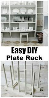 Kitchen Cabinet Plate Rack Storage 536 Best Plate Racks Images On Pinterest Plate Racks Kitchen