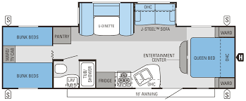 jay flight trailers floor plans 2014 jay flight 29qbh jayco inc
