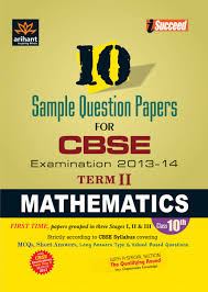 mathematics 10 sample question papers for cbse examination 2013