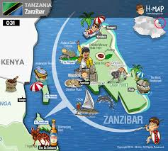 Map Of Tanzania Africa by Tanzania Map Zanzibar Map Illustration Travel History