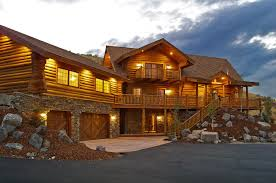 idaho house manufactured log homes yellowstone log homes