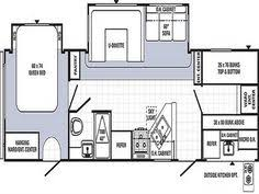 triple bunk travel trailer floor plans new 2015 open range roamer 310bhs 4 slide bunkhouse travel trailer