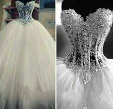 bling wedding dresses cinderella s come true 23 seriously stunning wedding