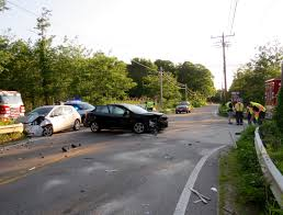 east dennis two car crash sends two to hospital