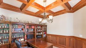 How To Build A Tray Ceiling Coffered Ceiling Design Ceiling Beams Coffer Ceiling Panels