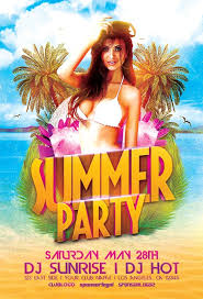 summer flyers download summer and beach psd flyer templates