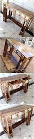 Antique Entryway Table Recycled Pallets Vintage Entryway Table Idea Wood Pallet Furniture