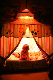 bed tent with light circus tent bed canopy with light curtain inside little girls and