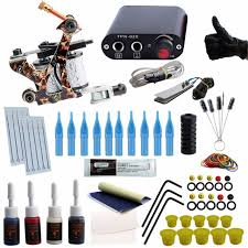 tattoo kit without machine temporary complete tattoo kit beginner tattoo kit machine guns inks