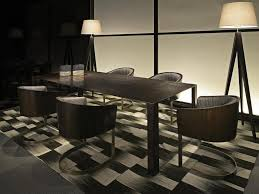 White Marble Desk by Interior Swing Glass Door With Black Aluminum Frame On White