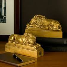 new york library bookends lion s column bookends lion bookends