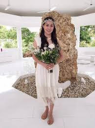 cristine reyes new hairstyle cristine reyes and ali khatibi tie the knot in a simple wedding