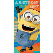 despicable me 3 minion money wallet birthday card danilo