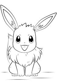 pokemon free printable coloring pages eevee pokemon coloring page free printable coloring pages