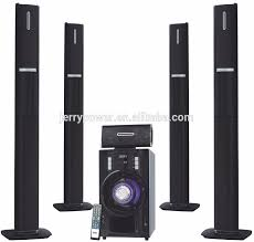 wireless speaker home theater 5 1 ch ahuja wireless mic surround system with led light speakers