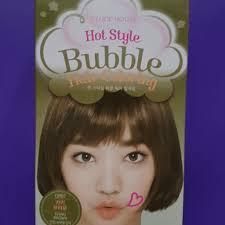 hair color put your picture etude house hot style bubble hair color review korean beauty
