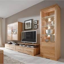Wohnzimmer Massivholz Echtholz Wohnzimmer Wohnwand Komplett 5 Teilig Kernbuche Massiv