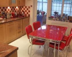 red dining rooms dining table and 6 red leather chairs adorable bright red leather